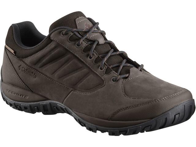 Columbia Ruckel Ridge Plus WP Zapatillas Hombre, cordovan/madder brown